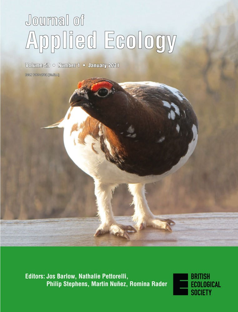 Henden et al. 2020 fikk forsiden av Journal of Applied Ecology nr. 1, januar 2021. Foto: Rolf A. Ims.