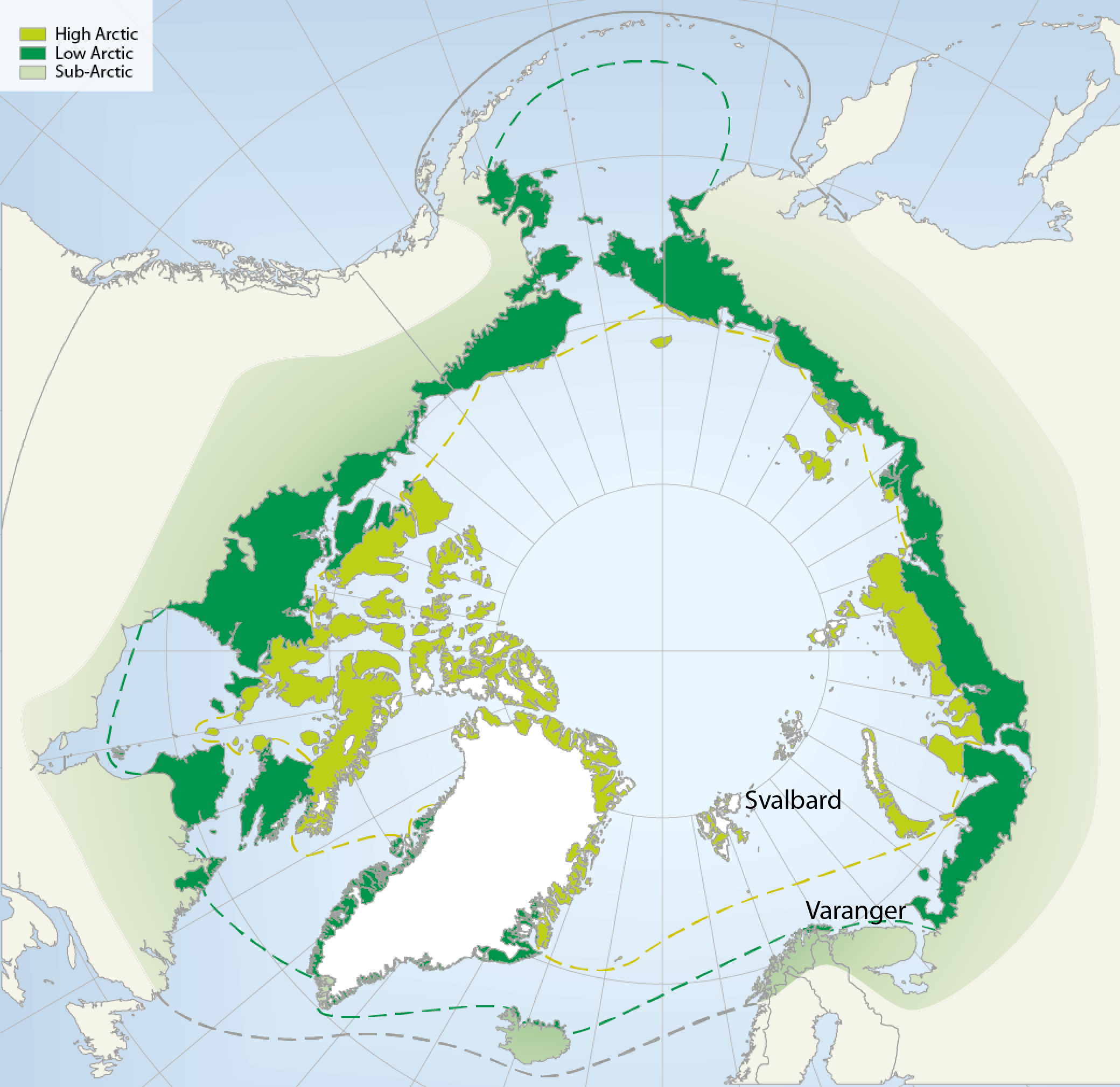 Map source: The Arctic Biodiversity Data Service